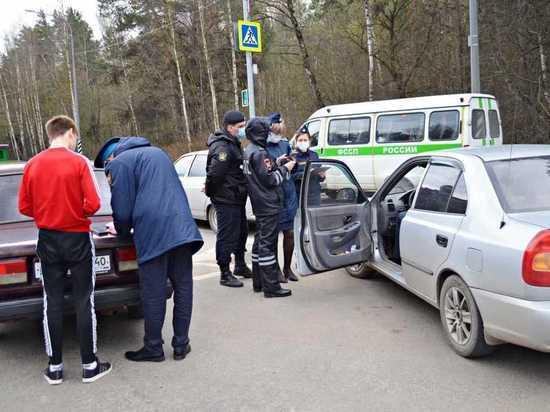 Приставы арестовали пять машин во время рейда в Калуге