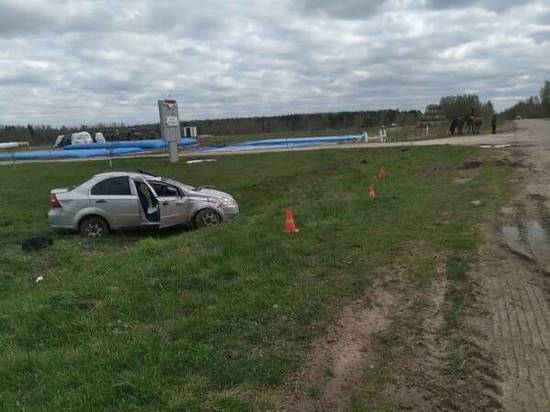 Под Брянском в пьяном ДТП пострадал пассажир