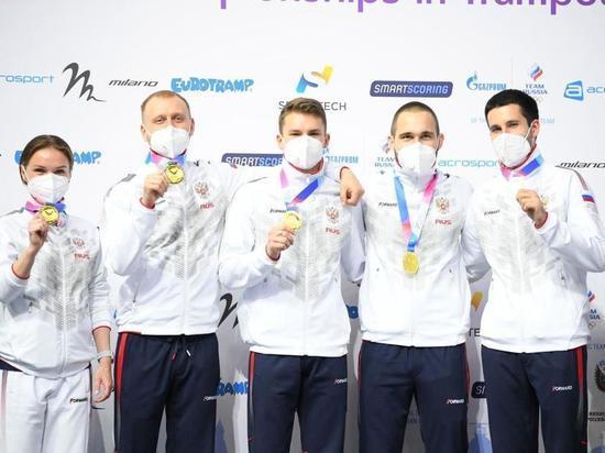 Астраханские акробаты выиграли Чемпионат и Первенство Европы
