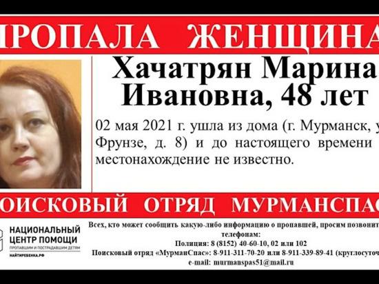 Ушедшую из дома женщину ищут в Мурманске