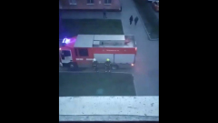 Видео пожара в московской гостинице попало в Сеть