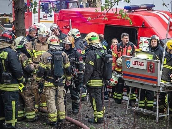Возгорание случилось в холле, постояльцы были застигнуты врасплох