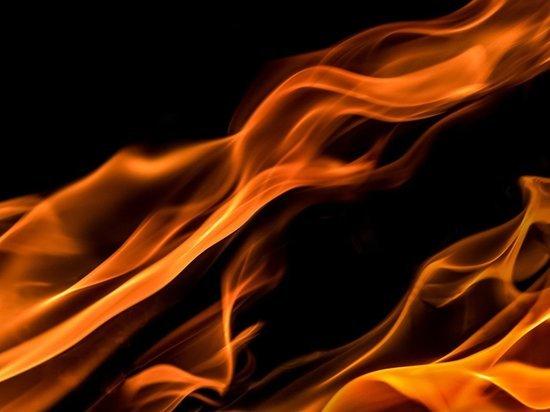 В центре Барнаула произошел пожар