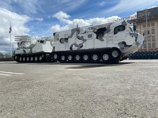 В Туле на репетиции Парада Победы показали необычное оружие