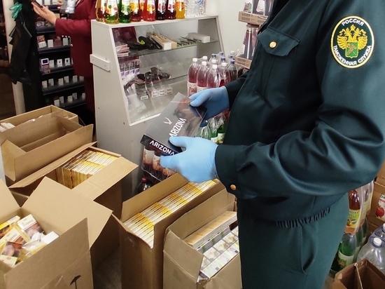 Магазин в Астрахани уличили в продаже контрафактных сигарет