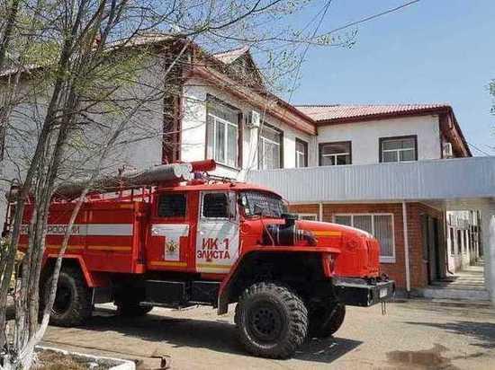 Пожарные Калмыкии отмечают профессиональный праздник