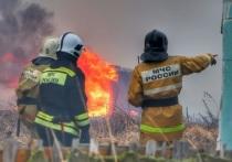 В Курганской области тревожная пожарная обстановка