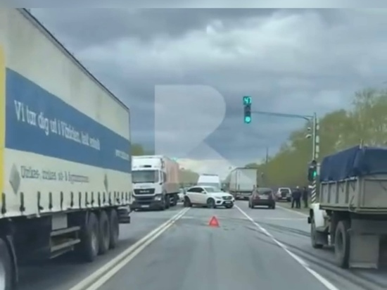 Под Рязанью произошла массовая авария с участием самосвала