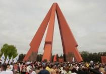 Почему унионисты требуют прекратить ремонт мемориала «Вечность»