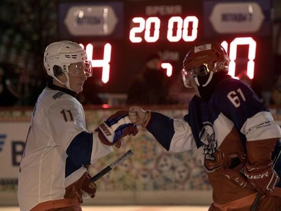 Путин поздравил участников финала 10-го сезона Ночной хоккейной лиги