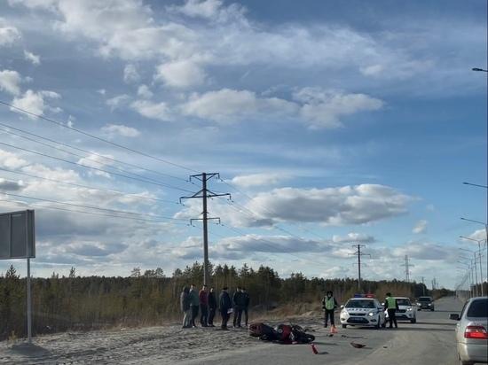 Мотоциклист столкнулся с иномаркой в Ноябрьске