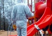 В парках Смоленска провели дезинфекцию