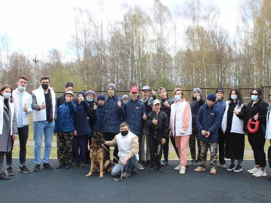 Костромские молодогвардейцы порадовали воспитанников социального учреждения общением с животными
