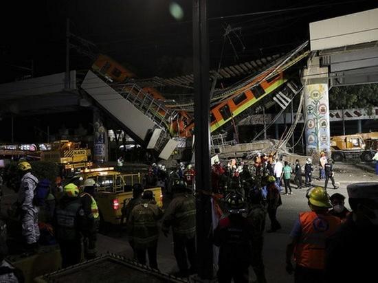 Посольство в Мексике: информации о погибших в метро россиянах нет