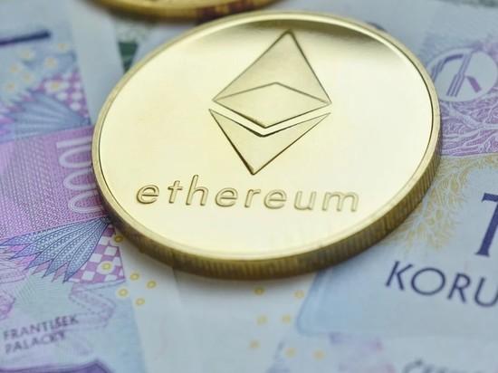 Цена криптовалюты Ethereum впервые поднялась выше $3500