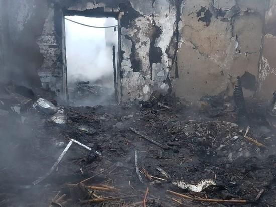 В Вельском районе мужчина погиб в результате пожара
