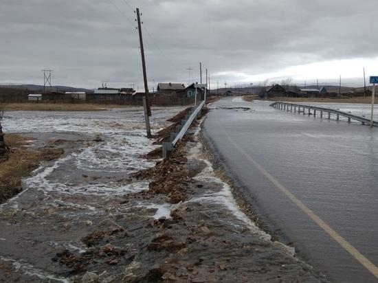 В четырех районах Забайкалья могут ввести режим ЧС из-за подтопления дорог