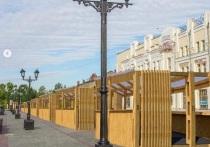 Администрация Барнаула намерена модернизировать ярмарку в районе пешеходной зоны на Мало-Тобольской.