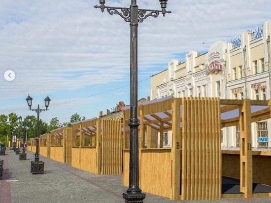 Мэрия Барнаула модернизирует ярмарку на Мало-Тобольской