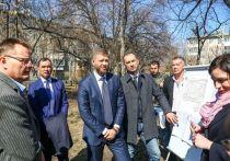Выездное совещание по развитию округа № 25 провел председатель думы города Иркутска Евгений Стекачев