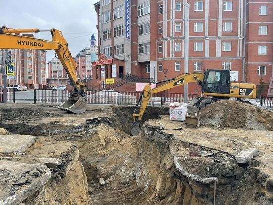 Масштабное строительство «ливневки» на Чубынина стартовало в Салехарде
