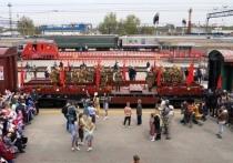 В Екатеринбург прибудет ретропоезд, посвященный Великой Отечественной войне
