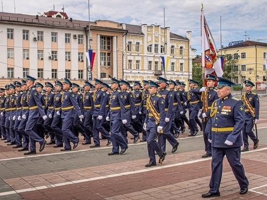 В Улан-Удэ продолжаются репетиции парада Победы