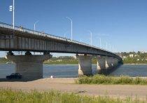 На Коммунальном мосту в Томске повредился деформационный шов