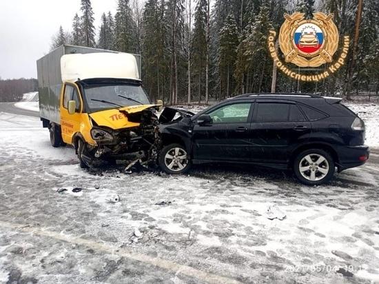 Семилетняя пассажирка пострадала в аварии на дороге в Карелии