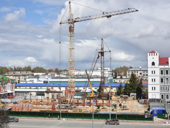 В Йошкар-Оле активно ведется строительство Дома дружбы народов, которое было начато в марте.