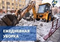 Более 200 кубометров смета убрано с улиц Мурманска за минувшие сутки