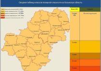 Майские грозы снизили класс пожарной опасности в Калужской области