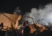 Армия Израиля нанесла очередной удар по ряду населённых пунктов на территории Сирии