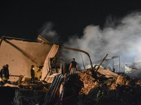Под атаку попали объекты вблизи российских военных баз