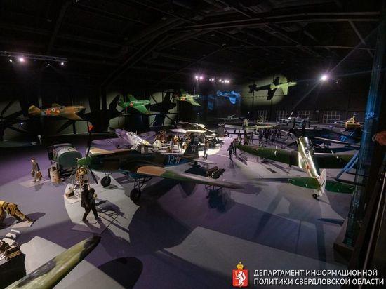 В музее УГМК открыли экспозицию авиатехники «Крылья Победы»