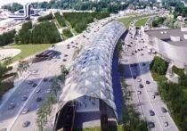 В сети появились эскизы железнодорожной станции возле «Лахта Центра»