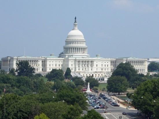 В США арестовали закидавшего камнями здание Капитолия мужчину