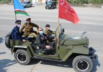 9 мая в Якутске: автопробег исторической техники и мини-концерты для  ветеранов