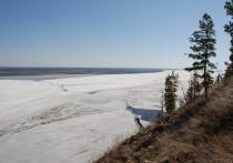 Утром 6 мая на всех реках Якутии наблюдается ледостав