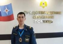 Пожарный установил рекорд Якутии
