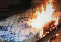 В Ивановской области курение в постели в очередной раз привело к пожару с пострадавшим