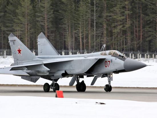 На Дальнем Востоке дежурный МиГ-31 подняли для сопровождения американского шпиона