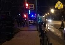 В Калуге байкер сбил пешехода