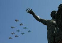В честь 76-й годовщины Победы в Великой Отечественной войне запланирован воздушный парад 9 мая над Красной площадью