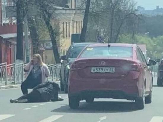 В Брянске на улице Фокина машина сбила женщину
