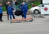 Велосипедист попал под колеса авто в районе ТРЦ «Макси» в Смоленске