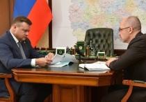 Любимов провел рабочую встречу с зампредом Дмитрием Филипповым