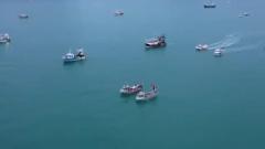 Появилось видео блокады острова Джерси французскими рыбаками
