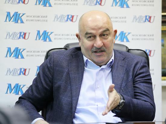 Главный тренер сборной России по футболу рассказал нам о главных задачах на предстоящий турнир