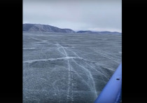 Удалось заснять на видео «танцующий» лед Байкала